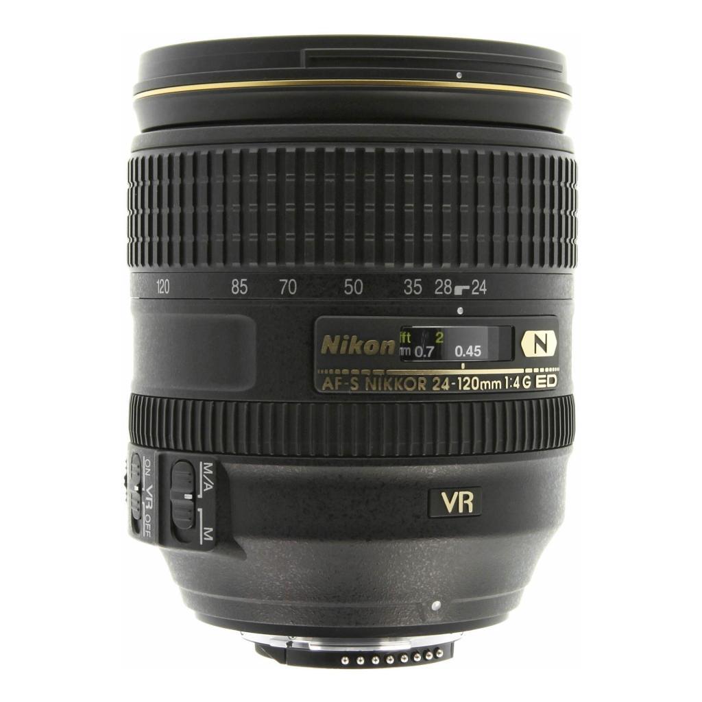 Nikon 24-120mm 1:4 AF-S G ED VR NIKKOR Schwarz - neu