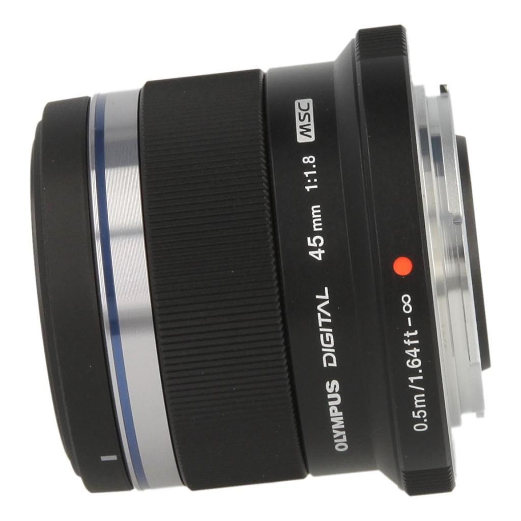 Olympus M.Zuiko 45mm f1.8 Objektiv Schwarz - neu