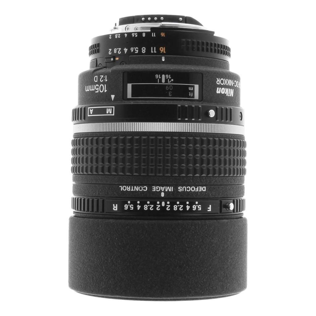 Nikon 105mm 1:2 AF D DC NIKKOR noir - Neuf