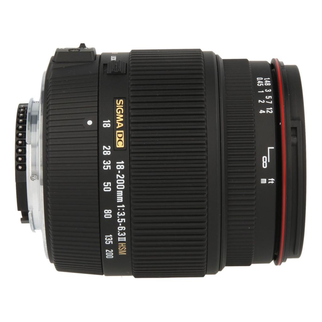 Sigma 18-200mm 1:3.5-6.3 II DC OS HSM für Nikon schwarz - neu