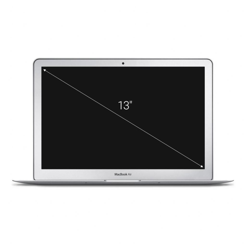 "Apple MacBook Air 2013 13,3"" (QWERTZ) Intel Core i7 1,7GHz 256Go SSD 8Go argent - Très bon"