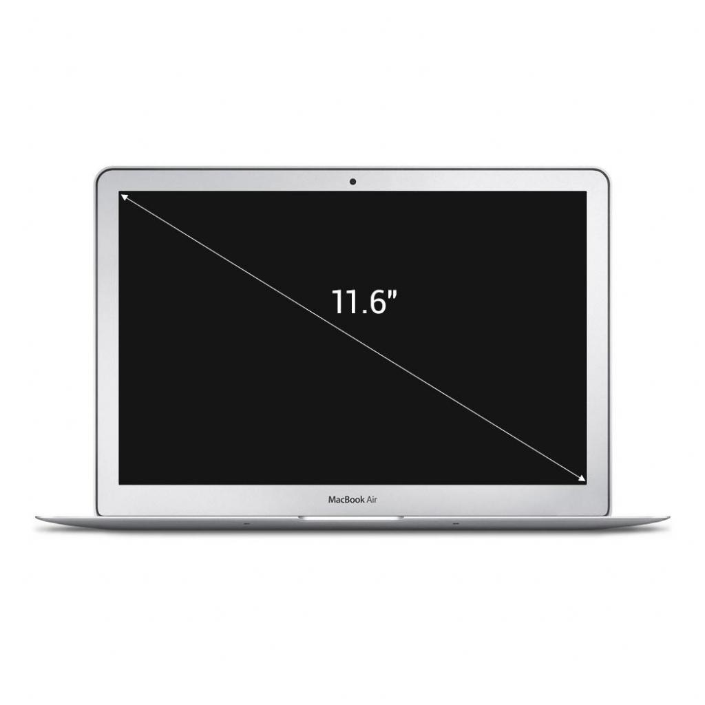 "Apple MacBook Air 2011 11,6"" (QWERTZ) Intel Core i5 1,6 GHz 64Go SSD 2Go argent - Très bon"