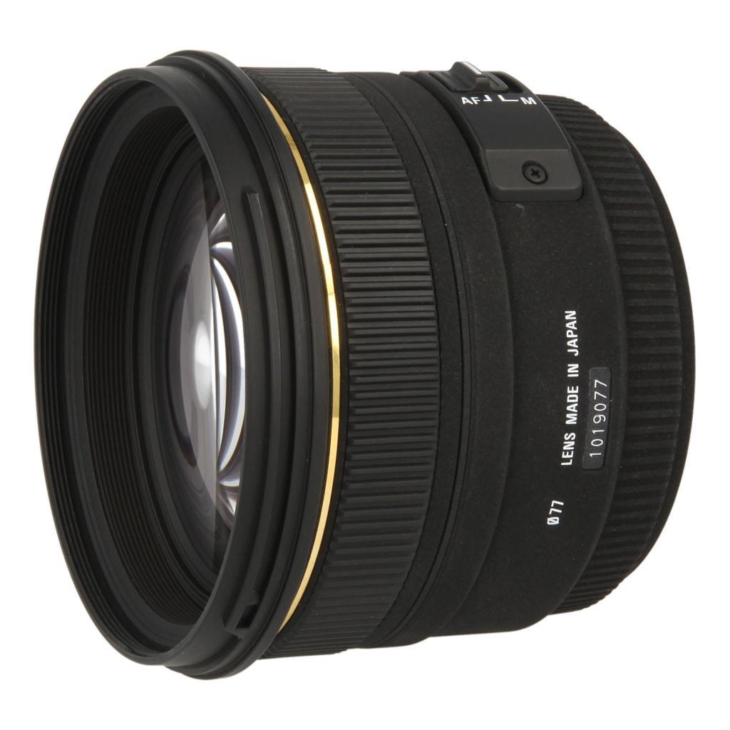 Sigma 50mm 1.4 AF EX DG HSM para Sony / Minolta negro - nuevo