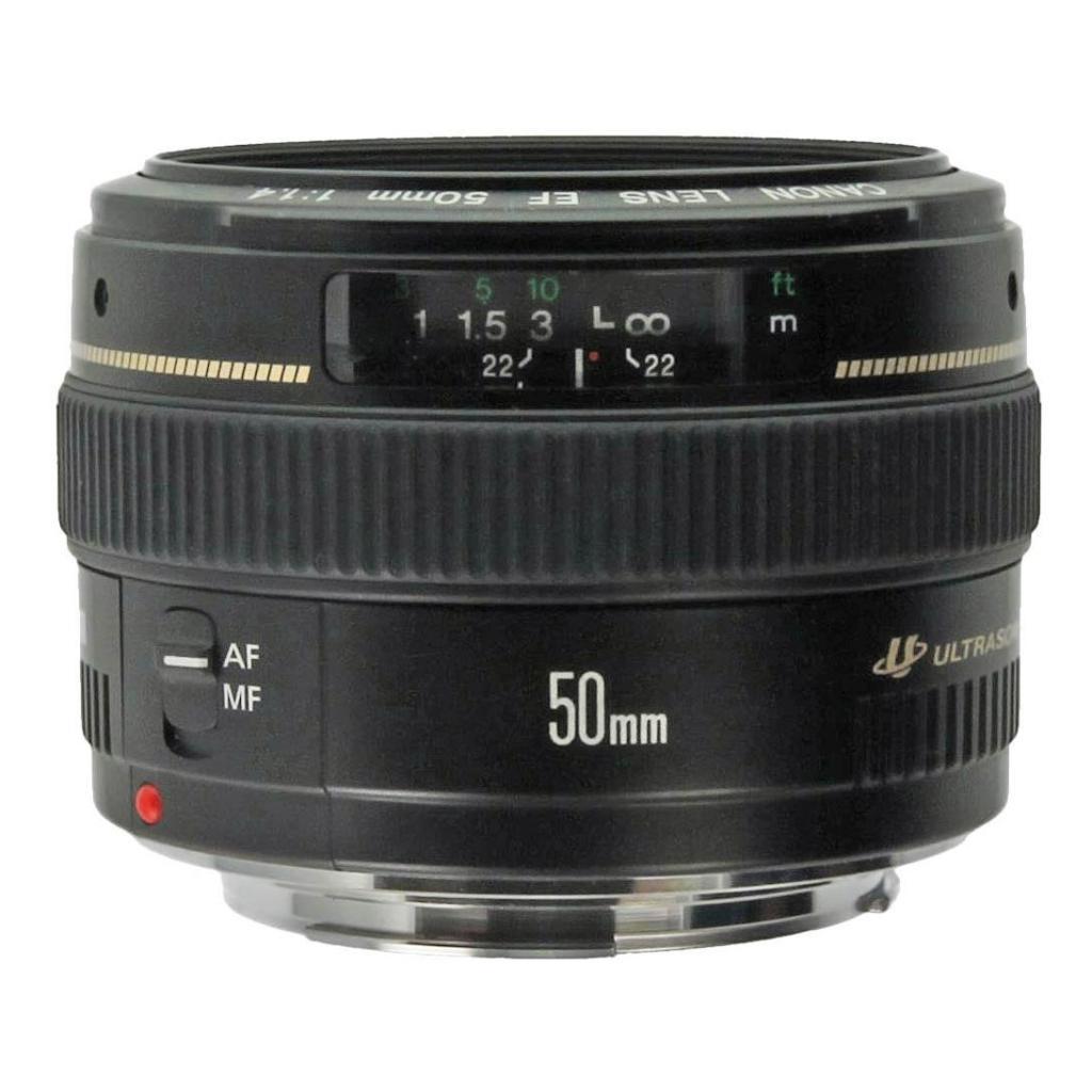 Canon EF 50mm 1:1.4 USM noir - Neuf