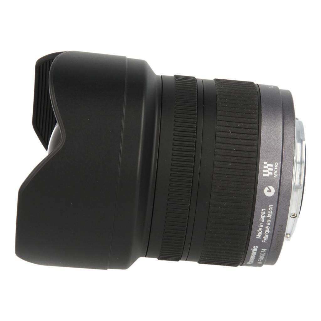 Panasonic 7-14mm 1:4 Lumix G Vario ASPH noir - Neuf