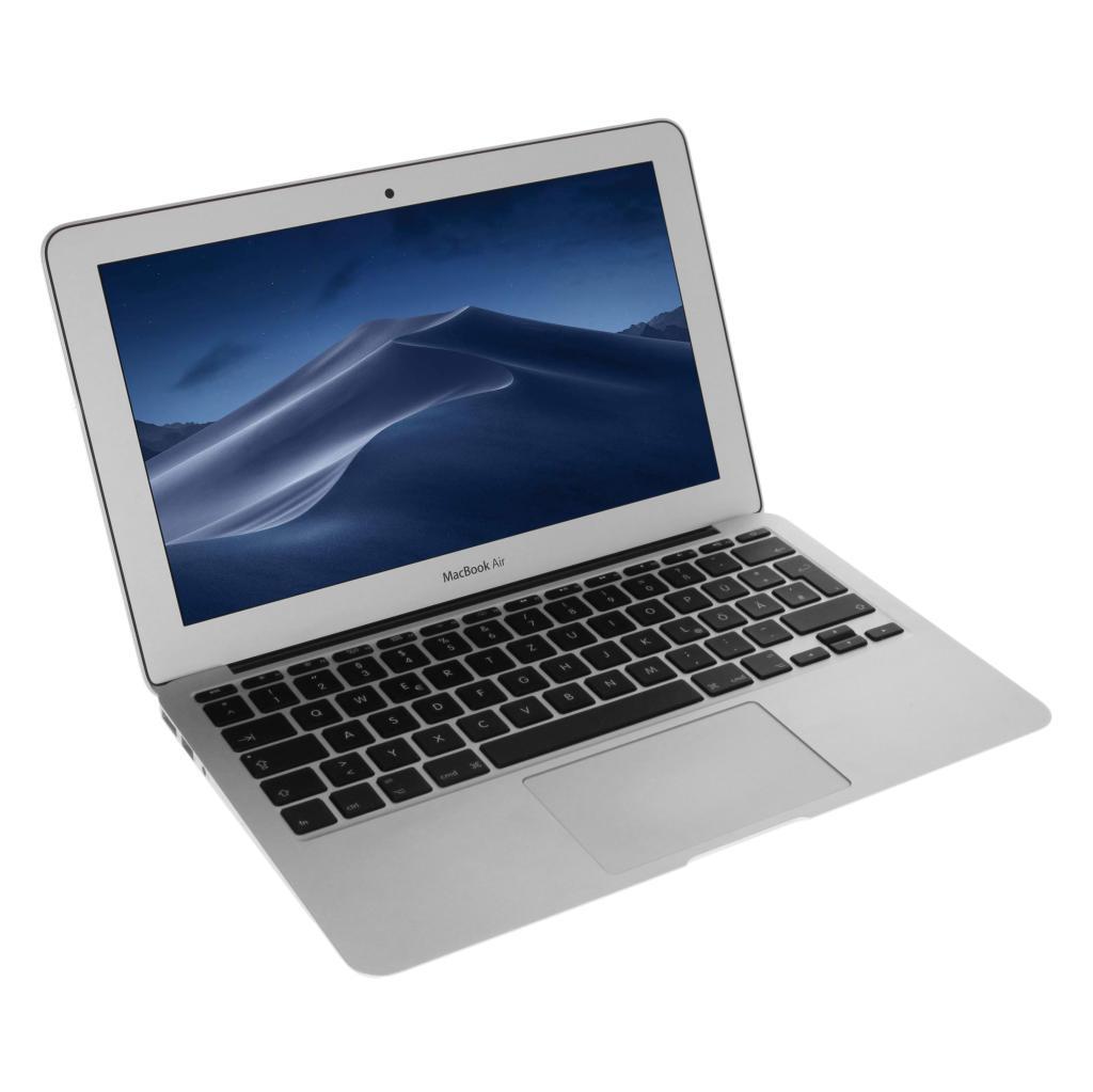 "Apple MacBook Air 2014 11,6"" QWERTZ ALEMÁN Intel Core i5 1,40 GHz 128 GB SSD 4 GB plateado - nuevo"