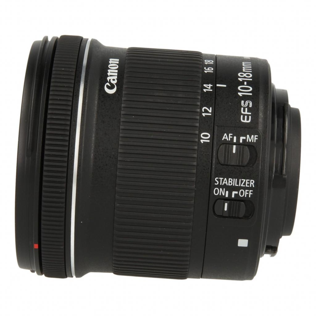 Canon EF-S 10-18mm_1:4.5-5.6 IS STM noir - Bon