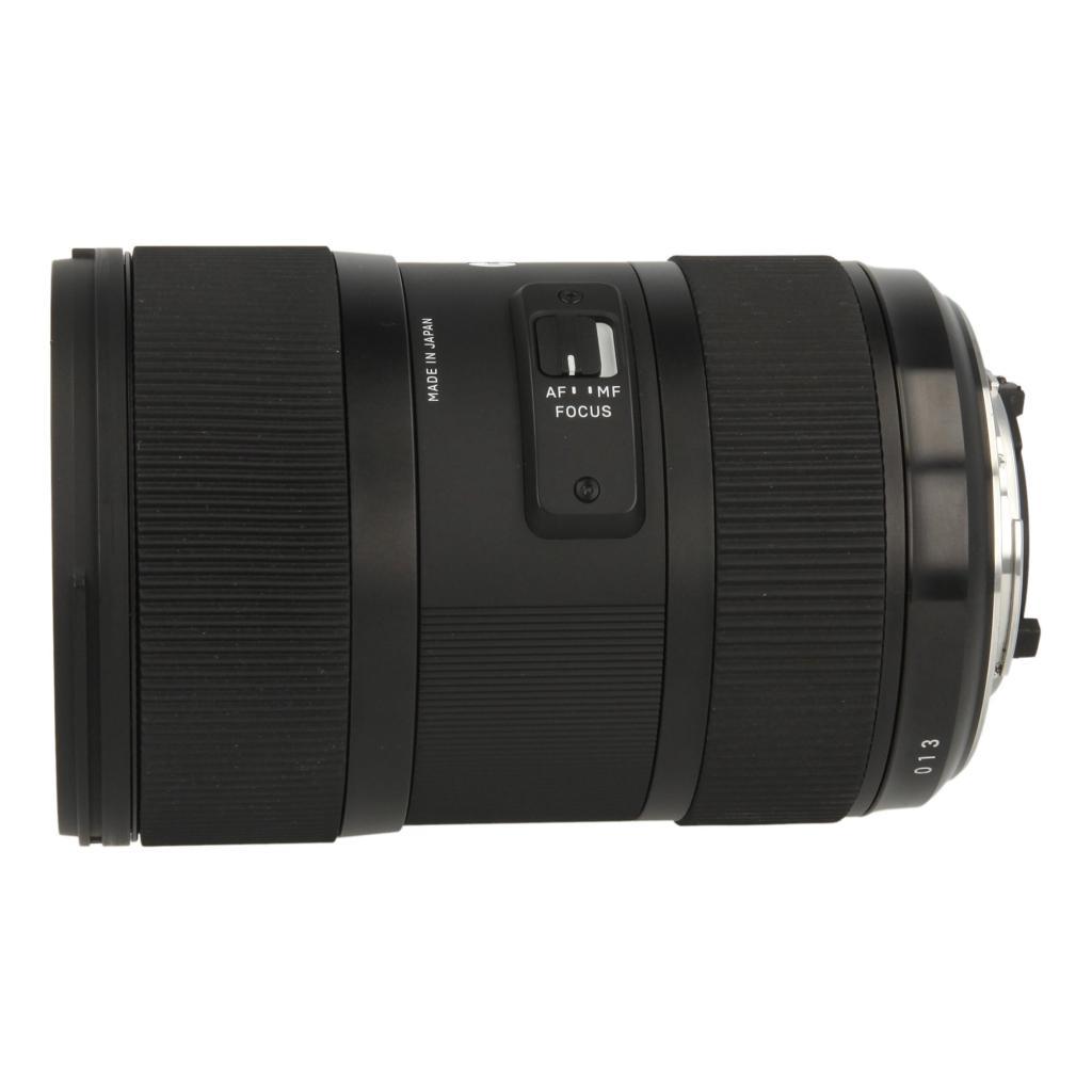Sigma 18-35mm 1:1.8 DC HSM Art für Nikon Schwarz - neu