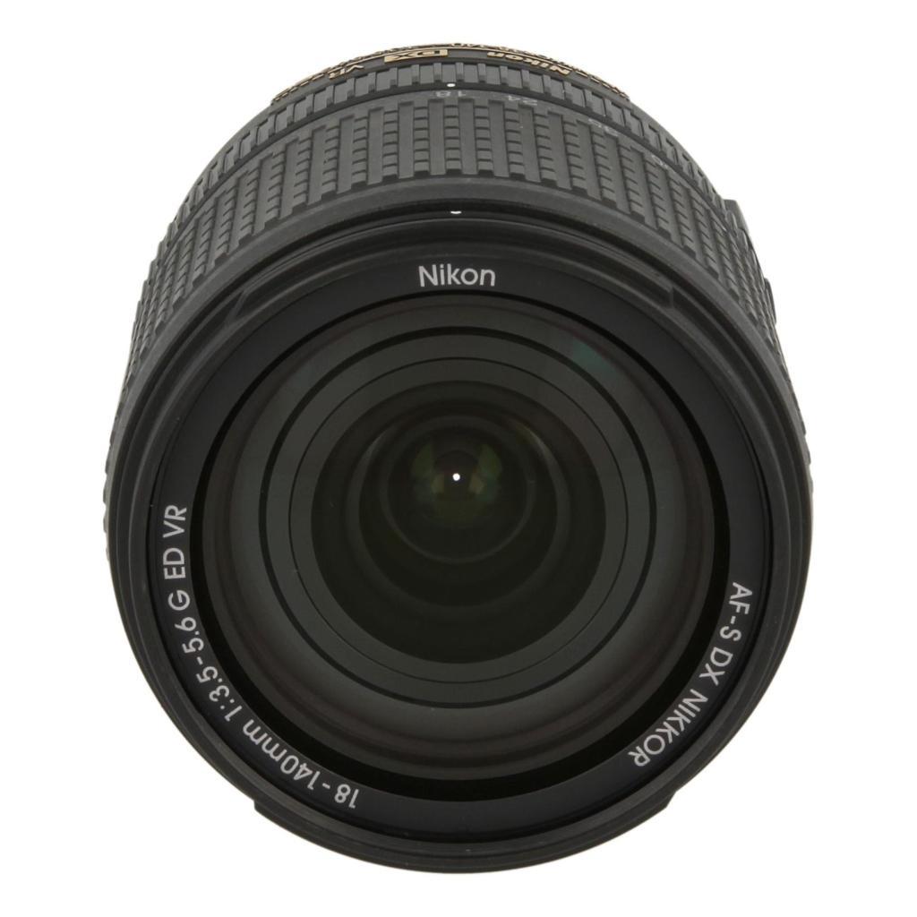 Nikon 18-140mm 1:3.5-5.6 AF-S G VR DX ED NIKKOR Schwarz - neu