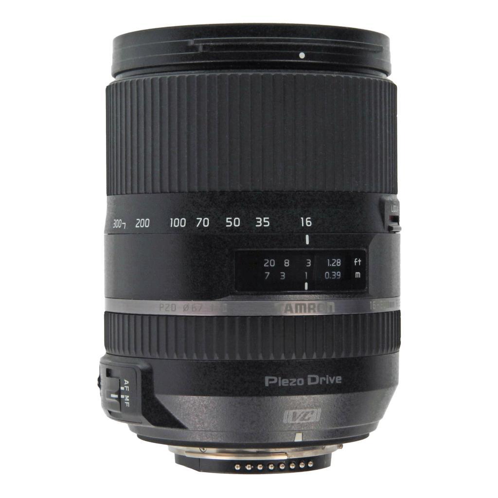 Tamron pour Nikon 16-300mm 1:3.5-6.3 AF Di II VC PZD Macro noir - Neuf