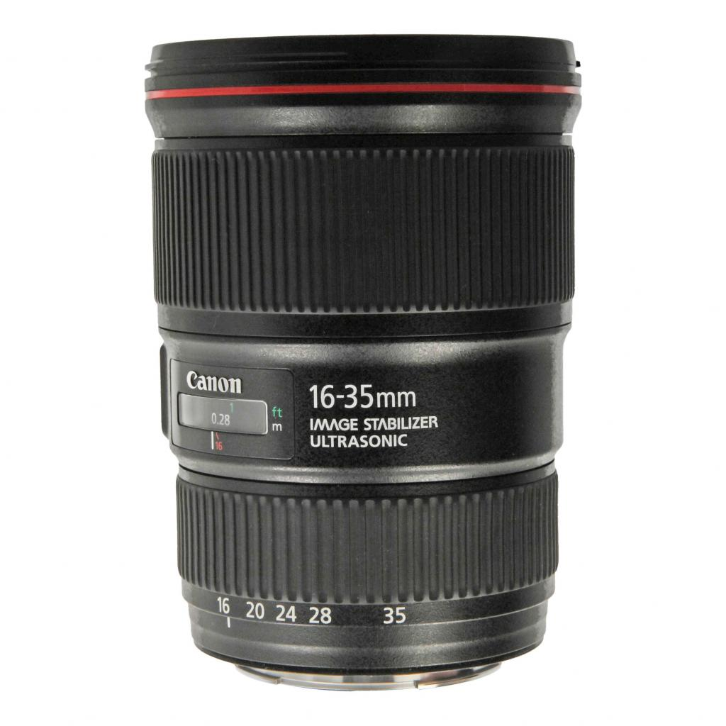 Canon EF 16-35mm 1:4 L IS USM negro - nuevo