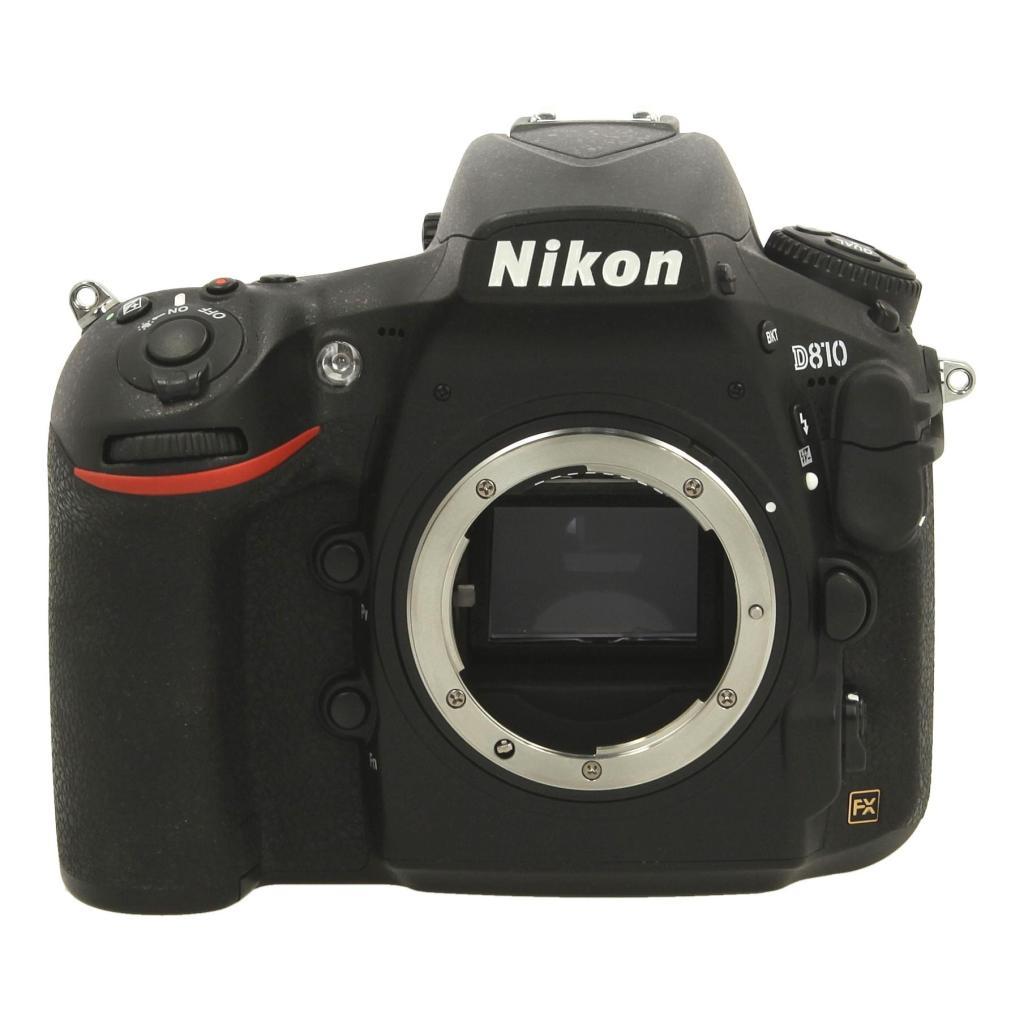 Nikon D810 Schwarz - neu