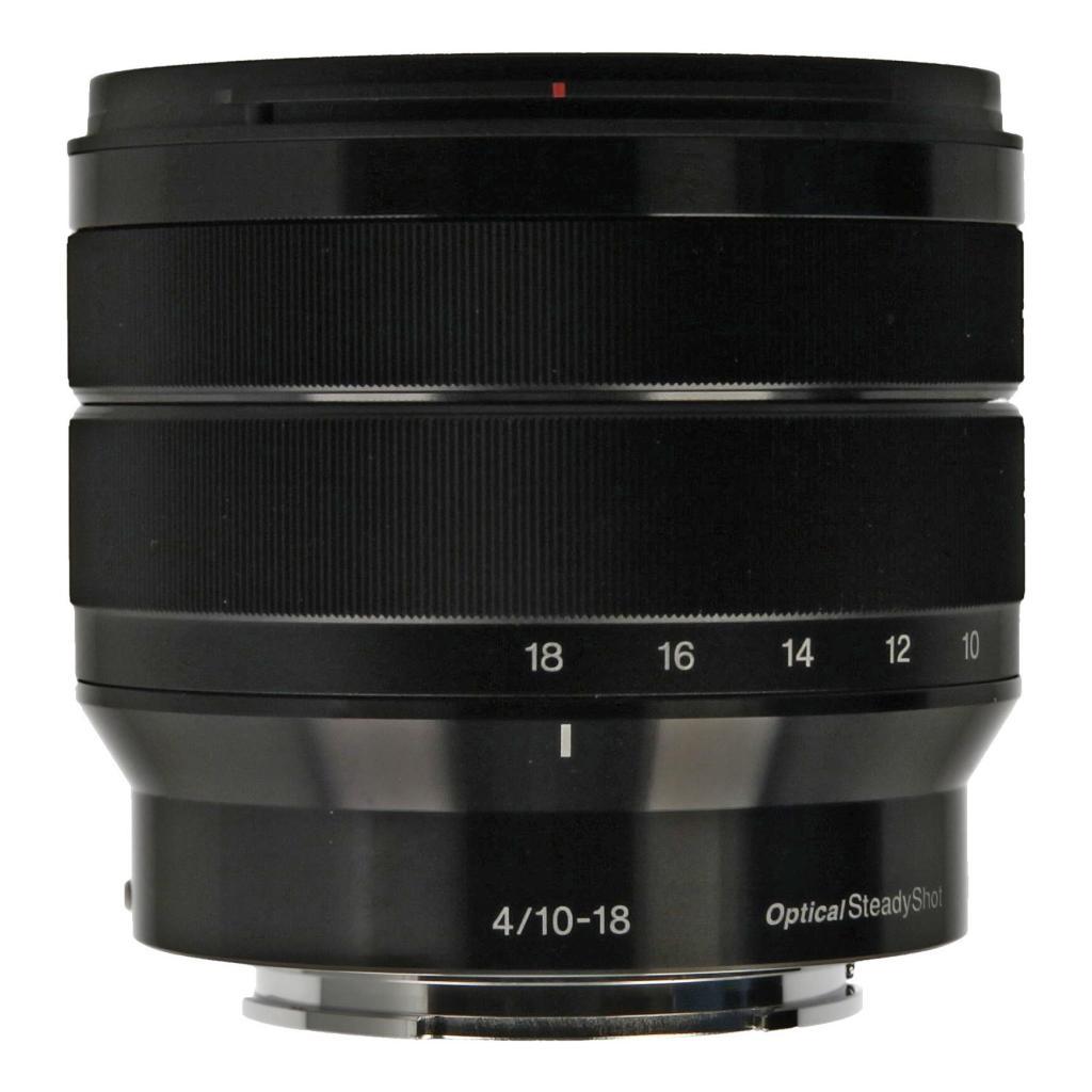 Sony 10-18mm 1:4.0 AF E OSS noir - Neuf