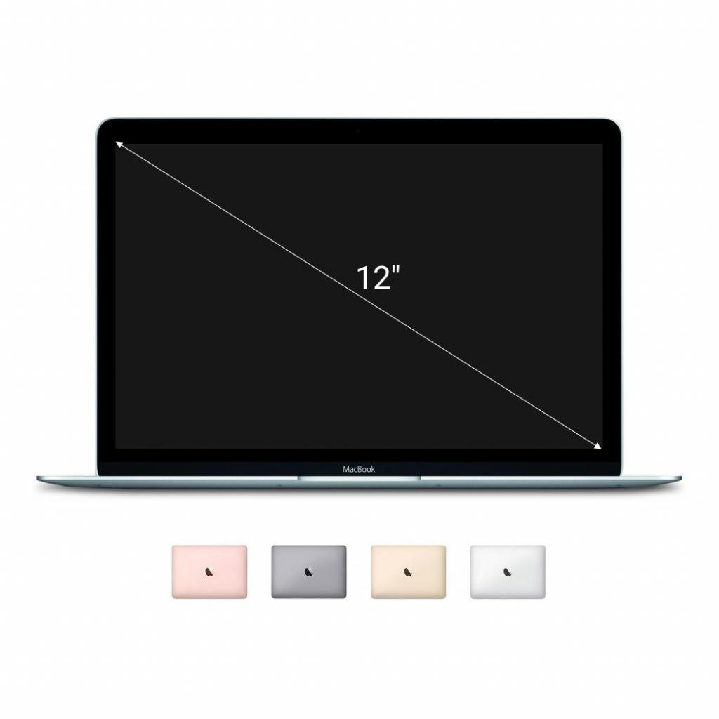 "Apple Macbook 2015 12"" (QWERTZ) écran Retina Intel Core M 1,3GHz 512Go SSD 8Go or - Neuf"