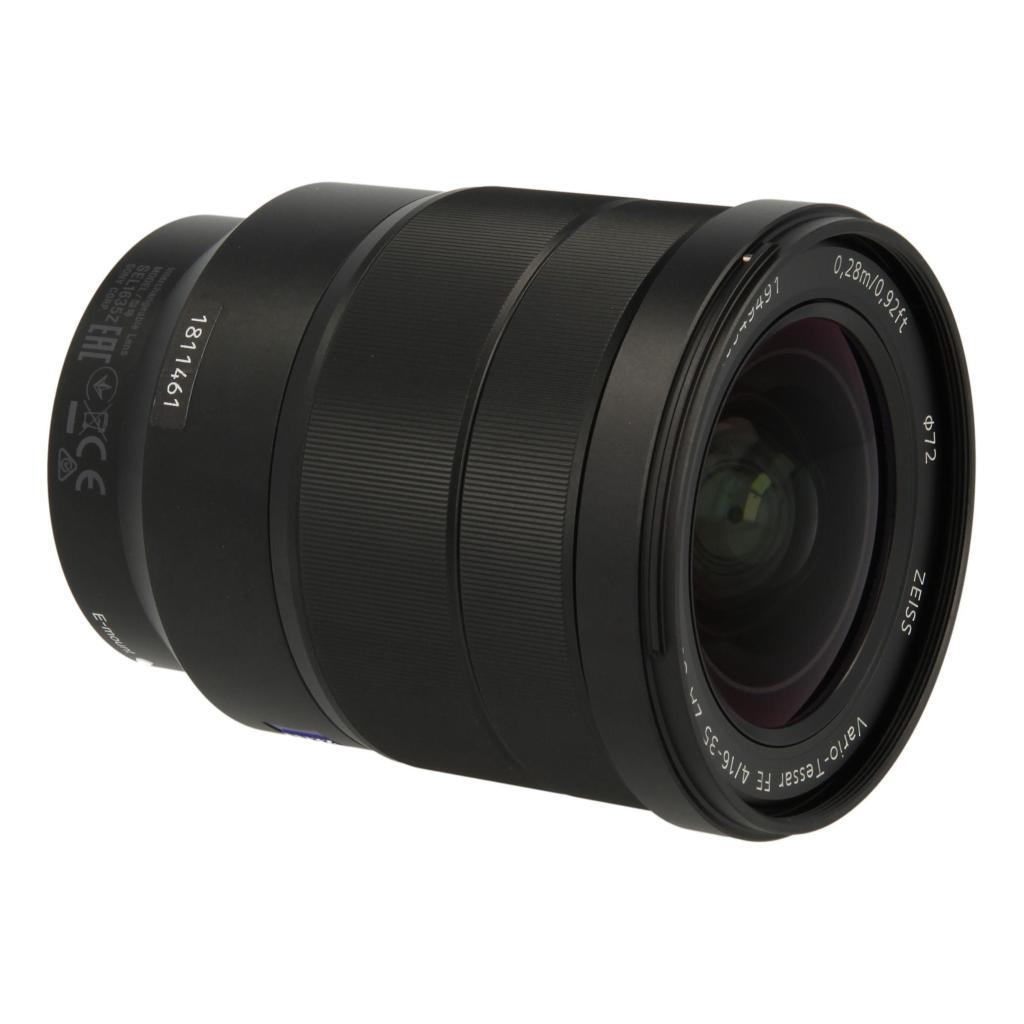 Sony 16-35mm 1:4.0 AF FE ZA OSS Schwarz - neu