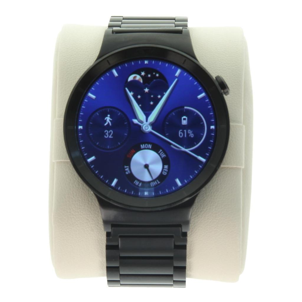 Huawei Watch Active avec un bracelet à maillons noir - Neuf
