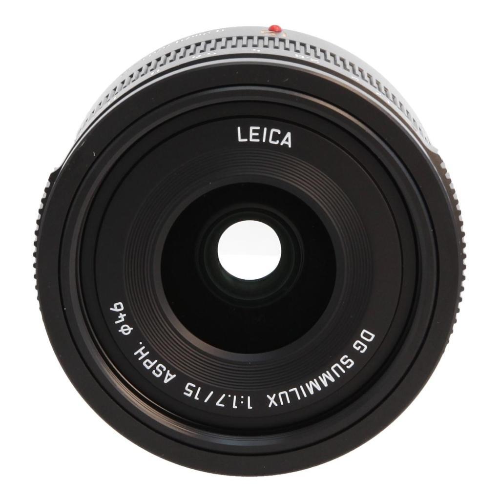 Panasonic 15mm 1:1.7 DG ASPH SUMMILUX H-X015 Schwarz - neu