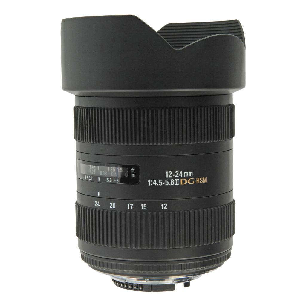 Sigma pour Nikon 12-24mm 4.5-5.6 AF II DG HSM noir - Neuf