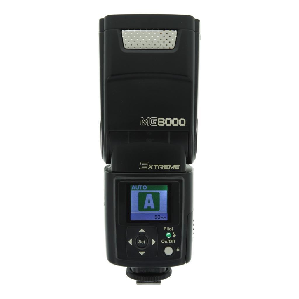 Nissin Speedlite MG8000 para Nikon negro - nuevo