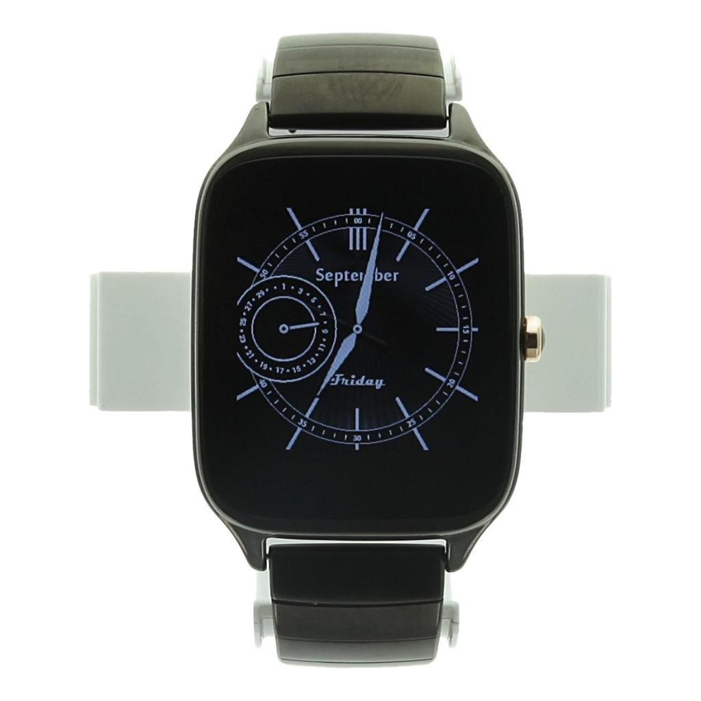 Asus Zenwatch 2 gris oscuro 41mm con metal pulsera gris oscuro - nuevo