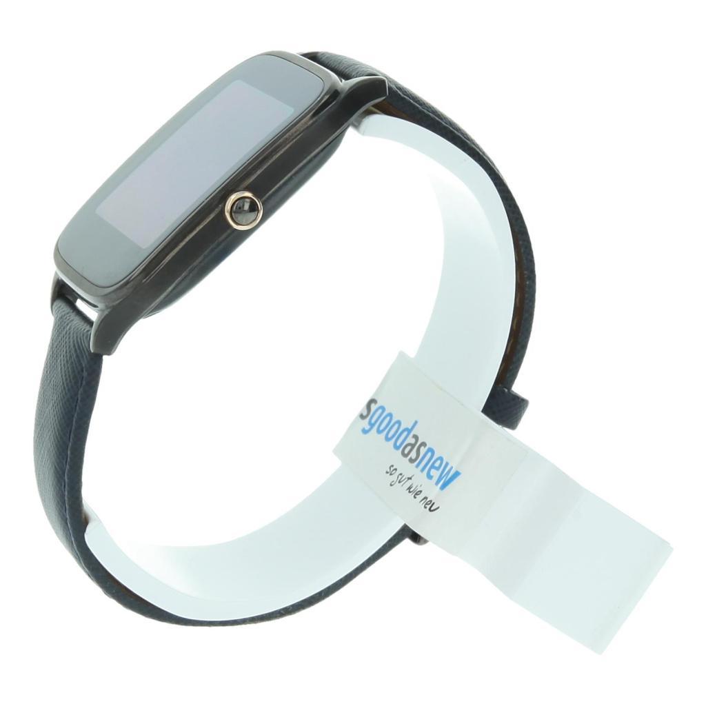 Asus Zenwatch 2 41mm con pulsera de cuero azul gris - nuevo
