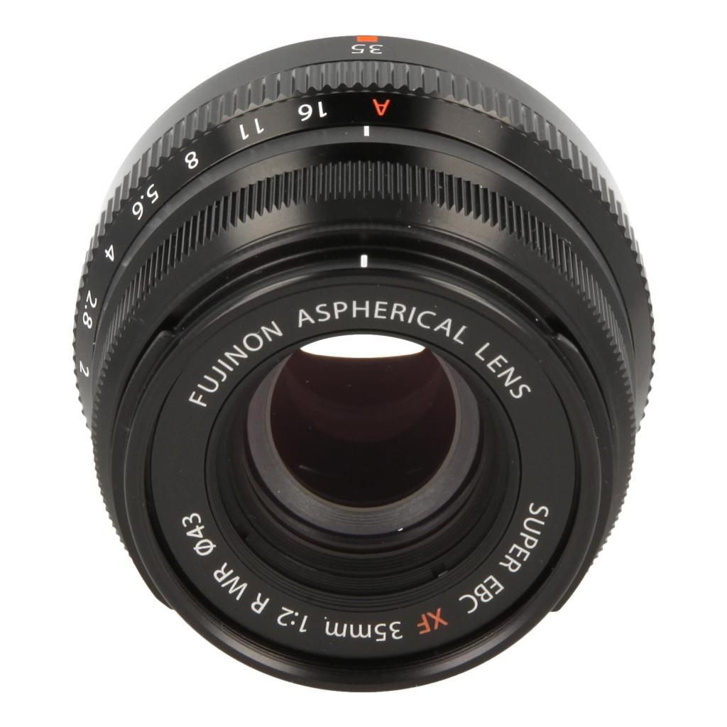Fujifilm 35mm 1:2.0 XF R WR negro - nuevo