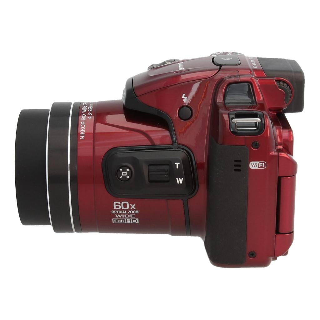 Nikon Coolpix P610 rojo - nuevo