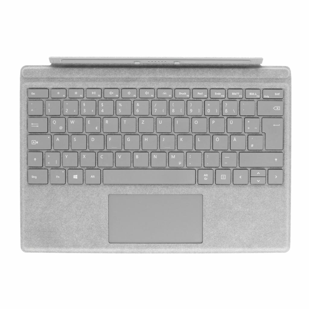 Microsoft Surface Pro 4 Type Cover (A1725) grau - QWERTZ - sehr gut