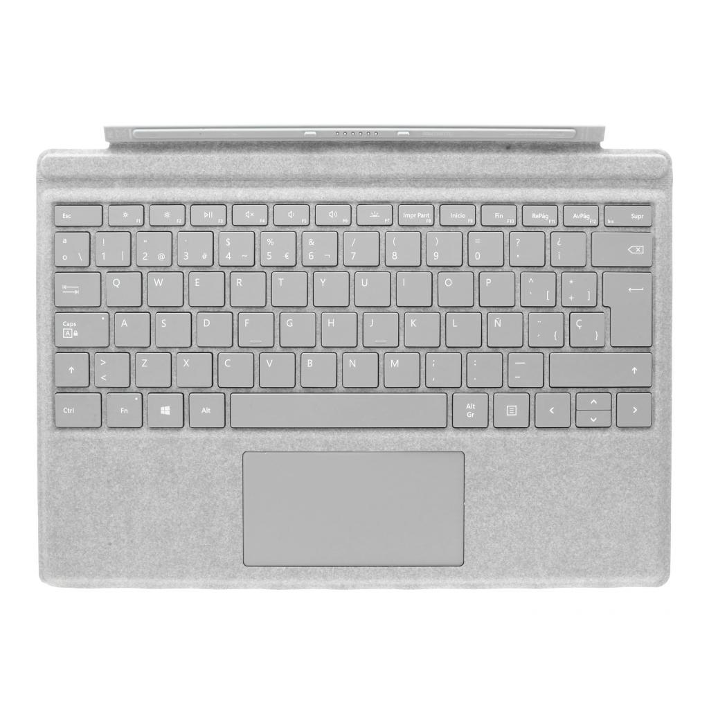 Microsoft Surface Pro 4 Type Cover (A1725) Alacantara grau - QWERTZ - neu
