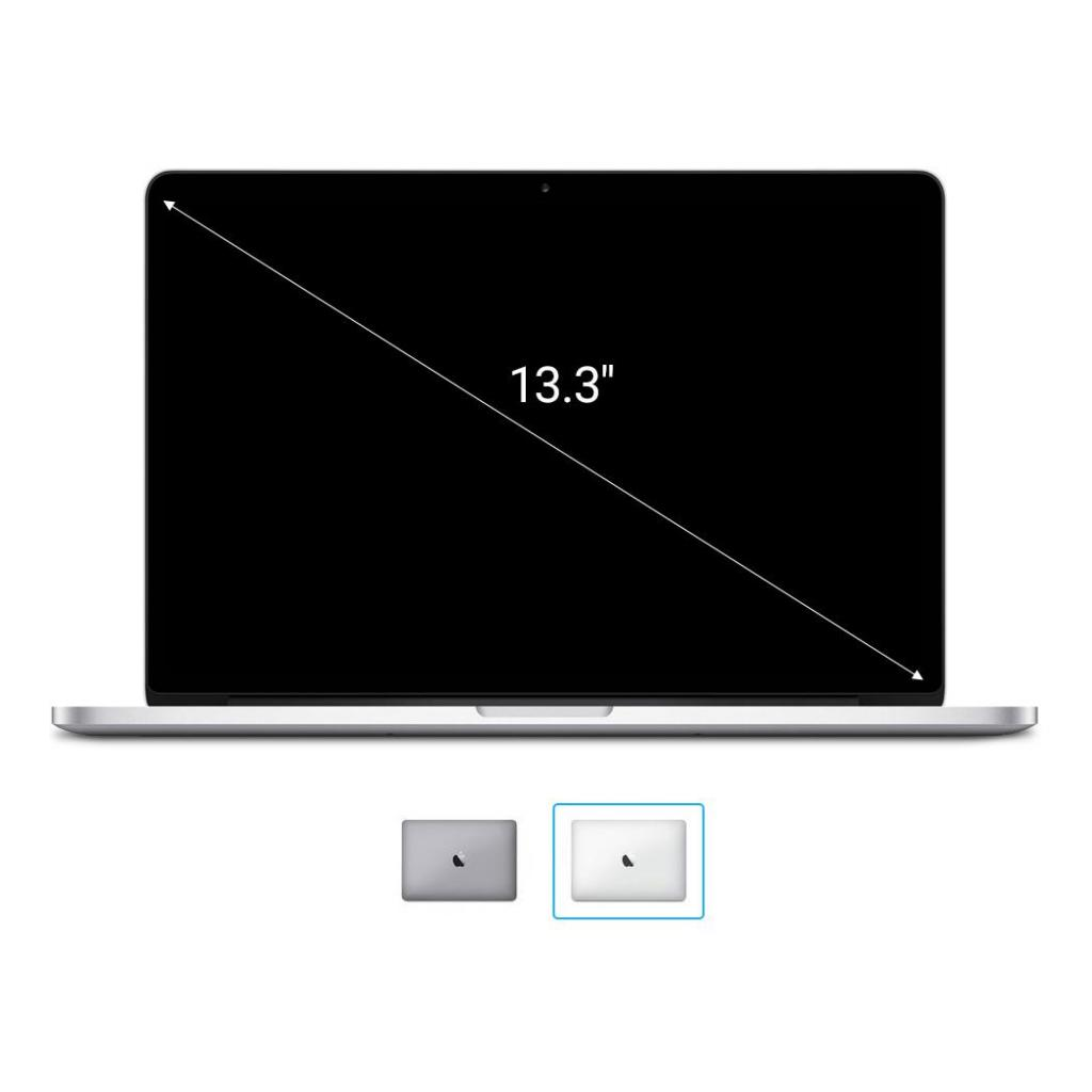 "Apple MacBook Pro 2016 13"" QWERTZ ALEMÁN Touch Bar Intel Core i7 3,30 GHz 1 TB SSD 16 GB plateado - nuevo"