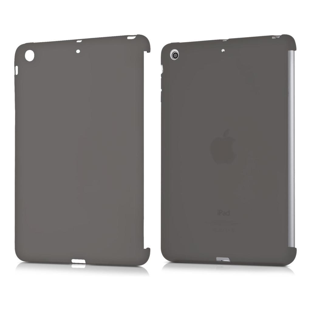 kwmobile Flip Cover für Apple iPad Mini 2 Retina / Mini 3 schwarz/durchsichtig - neu