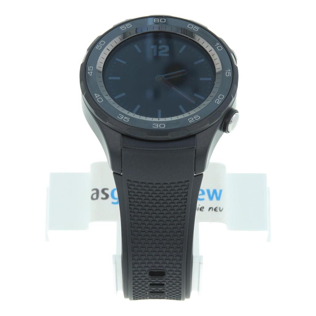 Huawei Watch 2 4G mit Sportarmband schwarz Schwarz