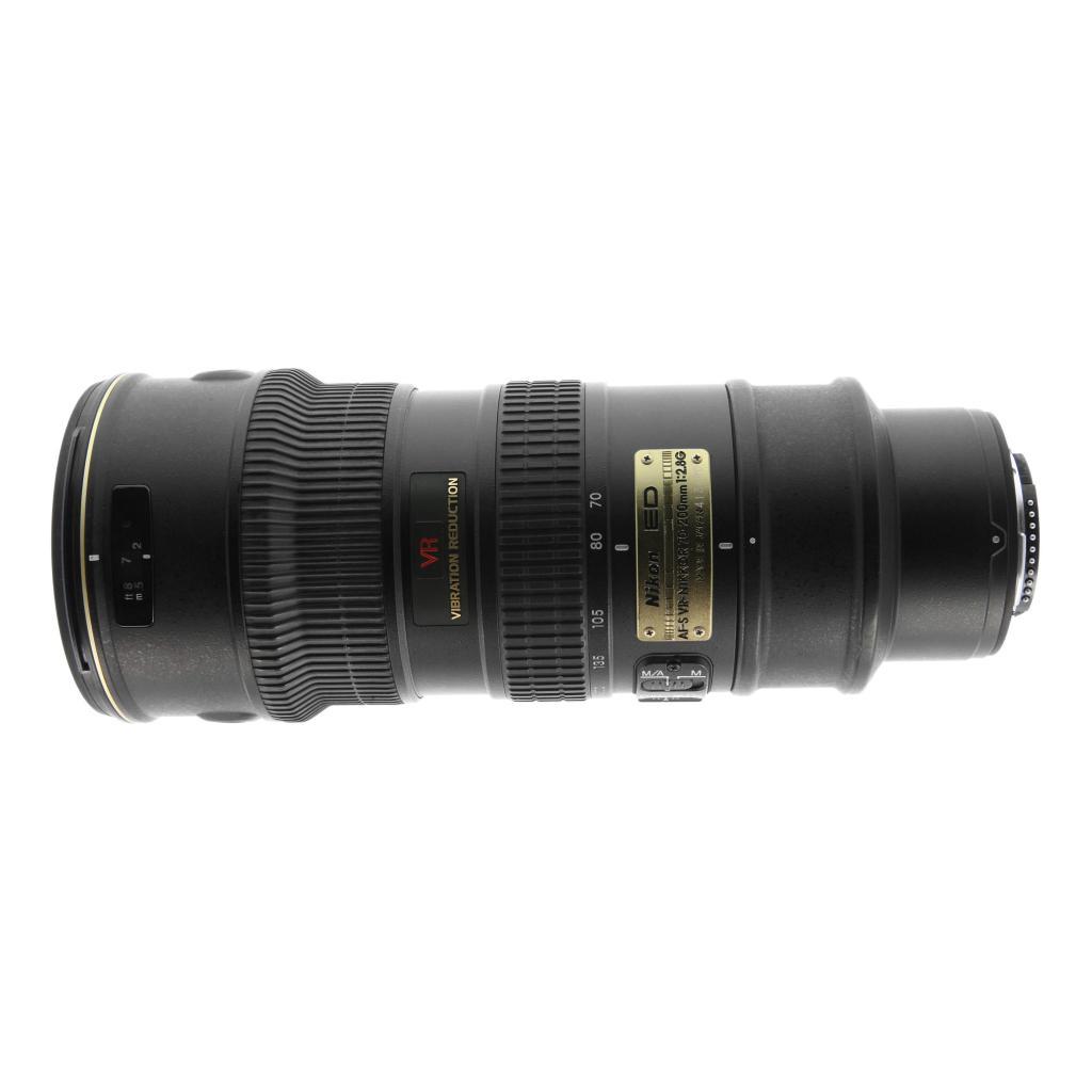 Nikon 70-200mm 1:2.8G AF-S VR IF-ED schwarz - neu