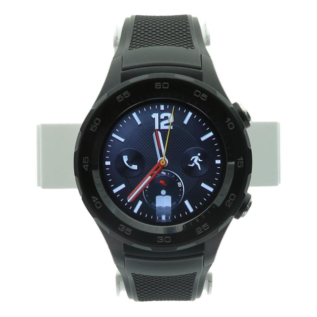 Huawei Watch 2 4G (eSIM) con pulsera deportiva negro negro - nuevo