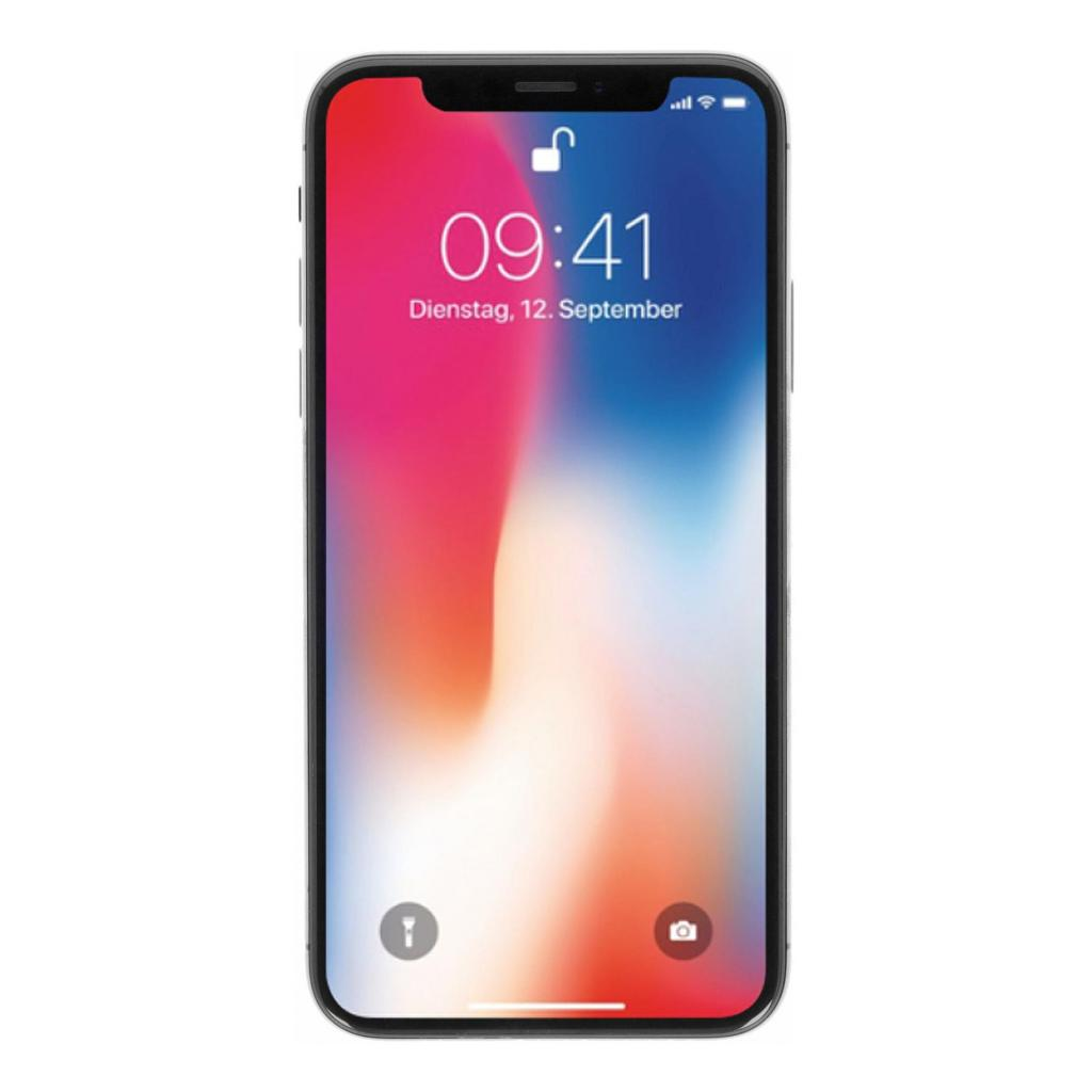 Apple iPhone X 256Go gris sidéral - Neuf