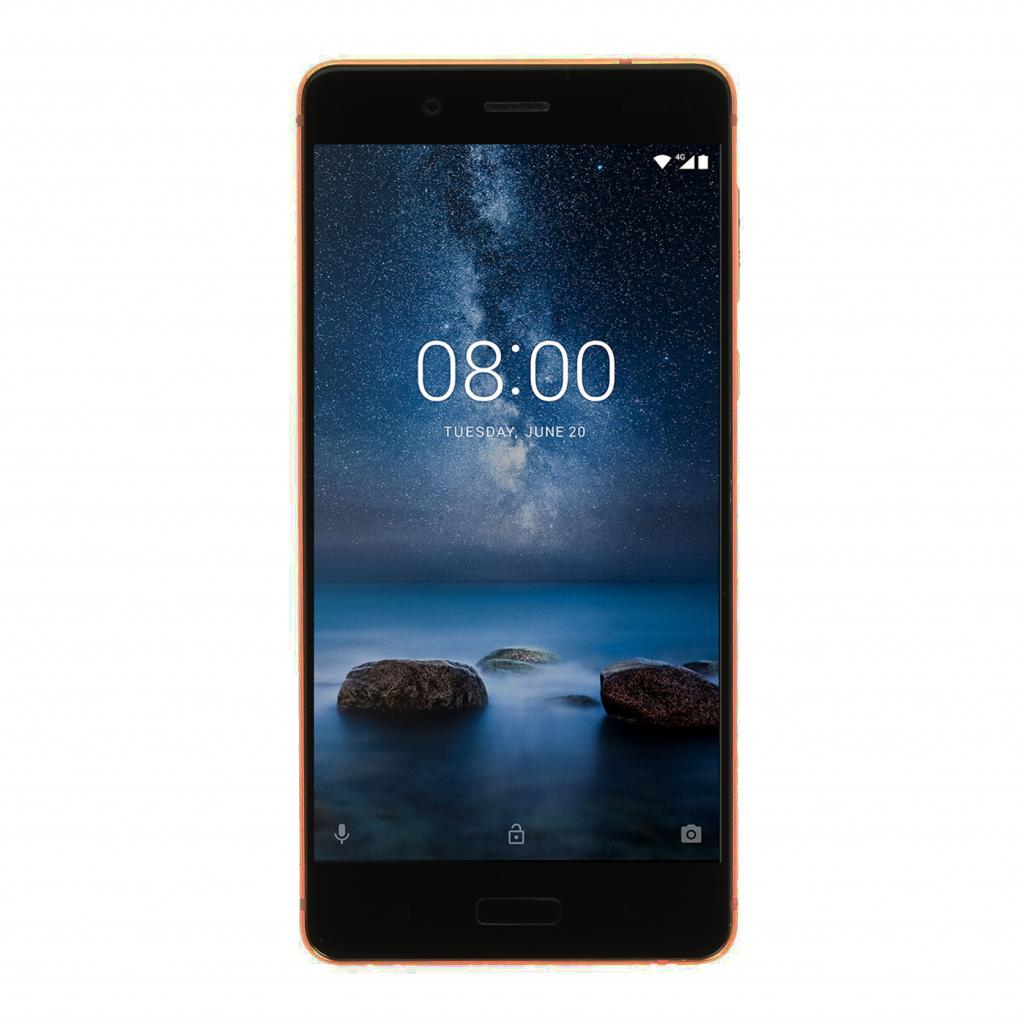 Nokia 8 Single-Sim 64GB cobre - nuevo