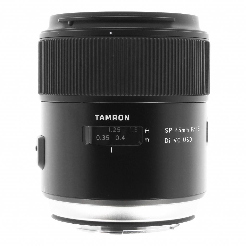 Tamron 45mm 1:1.8 AF SP Di VC USD para Canon negro - nuevo