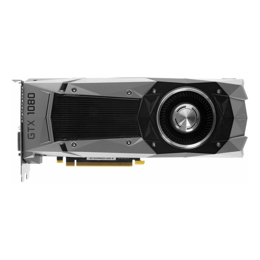 Gigabyte GeForce GTX 1080 Founders Edition (GV-N1080D5X-8GD-B) noir - Neuf