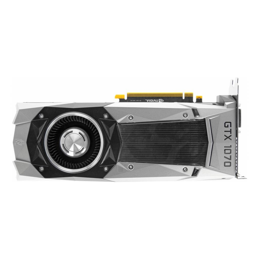 Nvidia GeForce GTX 1070 Founders Edition (900-1G411-2520-050) argent - Bon