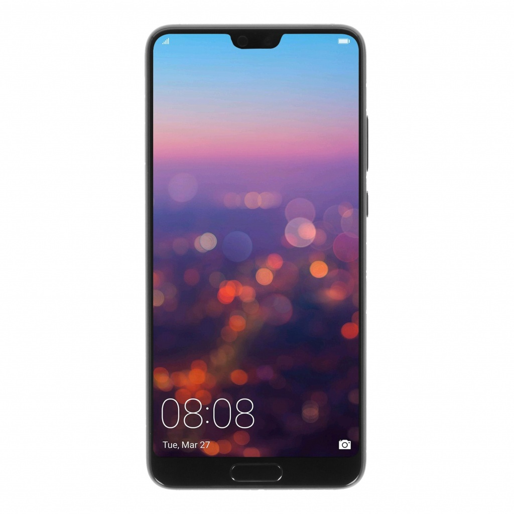 Huawei P20 Single-Sim 128GB schwarz - neu