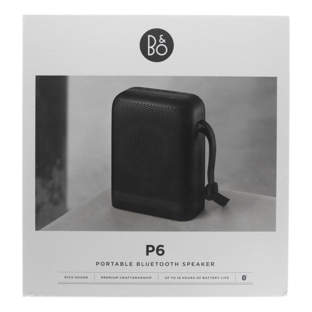 Bang & Olufsen Beoplay P6 noir - Neuf