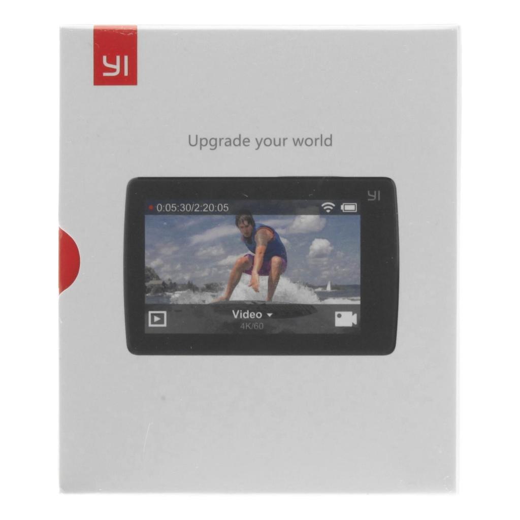 YI Technology 4K+ Action Cam schwarz - neu