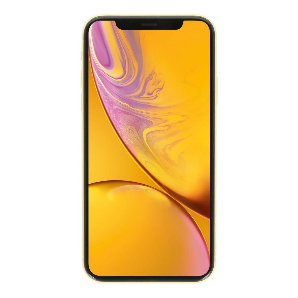Apple iPhone XR 64GB gelb - gut