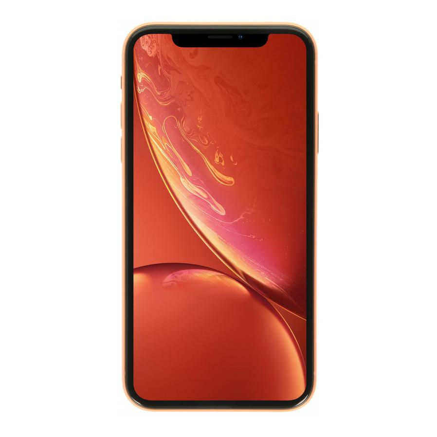 Apple iPhone XR 128GB koralle - sehr gut
