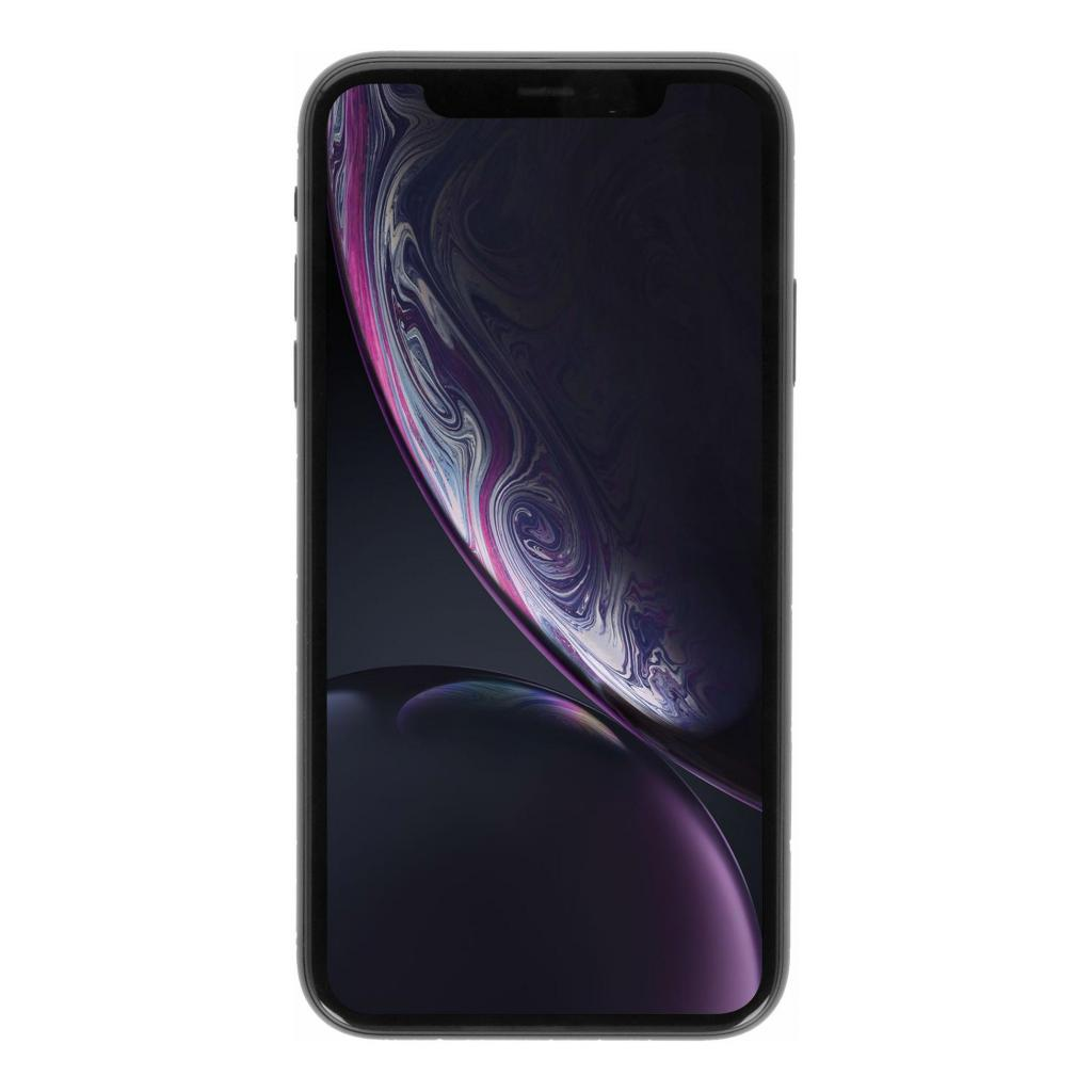 Apple iPhone XR 256GB schwarz - gut