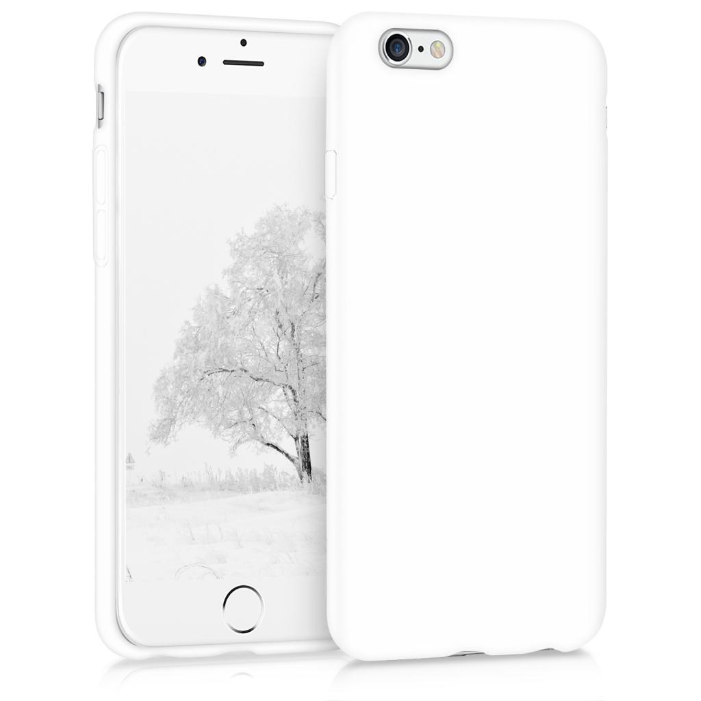 kwmobile Soft Case für Apple iPhone 6 / 6S (35176.48) weiß matt - neu