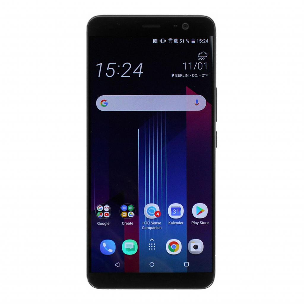 HTC U11 Plus Dual-Sim 128GB negro - buen estado