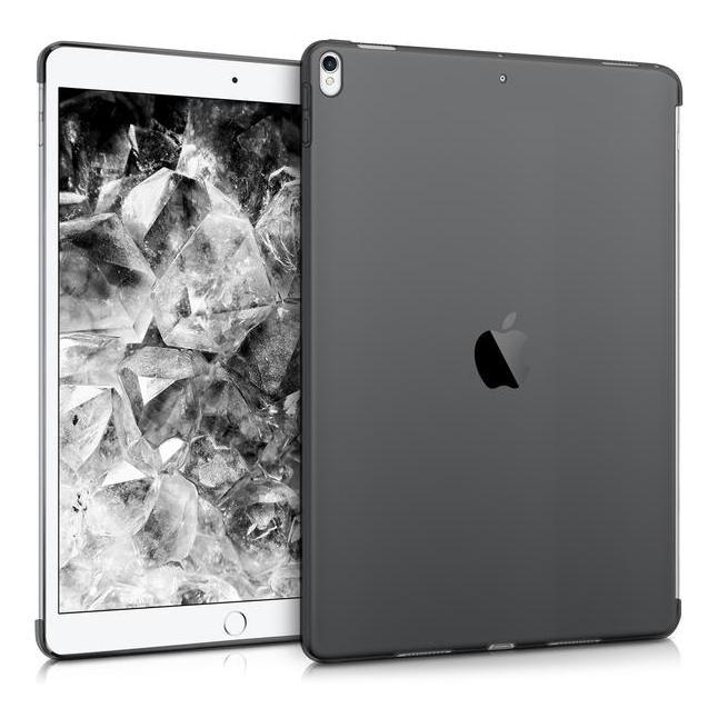 """kwmobile Soft Case für Apple iPad Pro 2017 10,5"""" / iPad Air 3 2019 10,5"""" (42195.01) schwarz/durchsichtig - neu"""