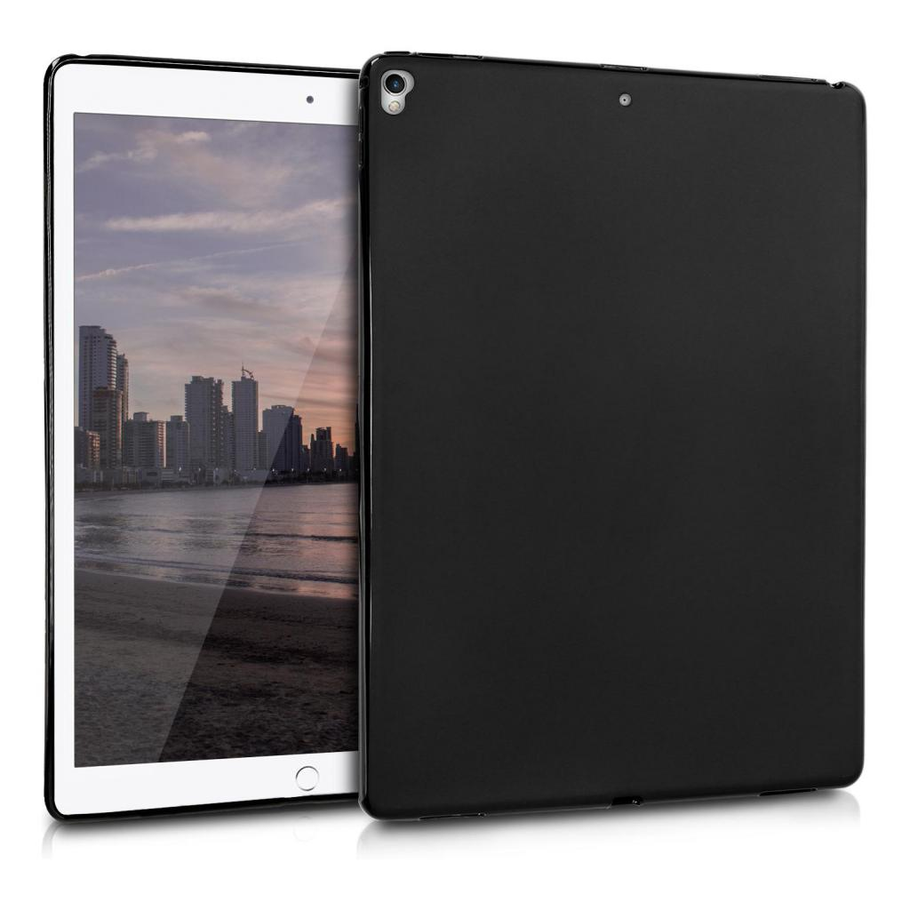 "kwmobile Soft Case für Apple iPad Pro 12,9"" (2015 / 2017) (43518.47) schwarz matt - gut"