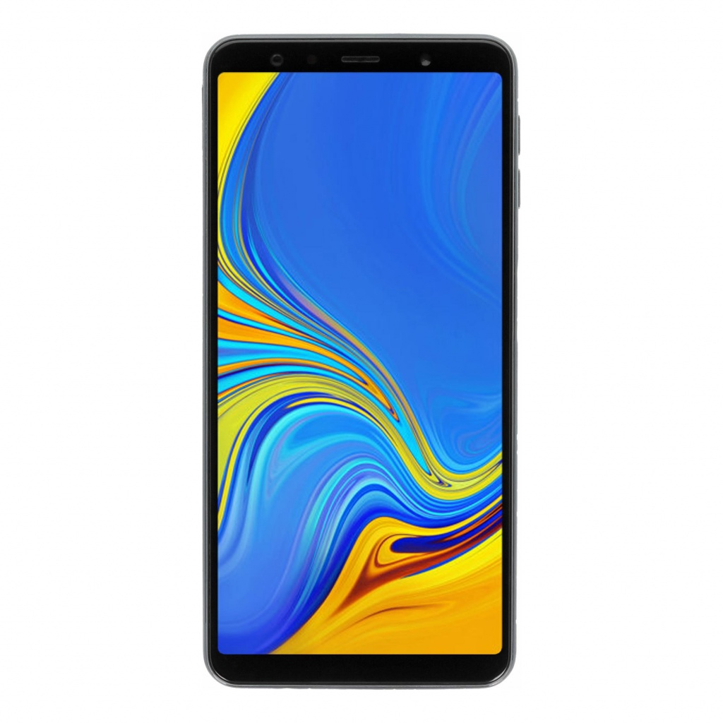 Samsung Galaxy A7 (2018) 64GB blau - gut
